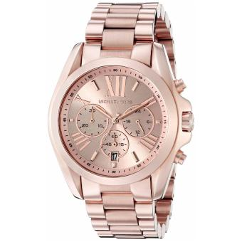 Michael Kors Ladies' Rose Gold Stainless Steel Bracelet Watch MK5503