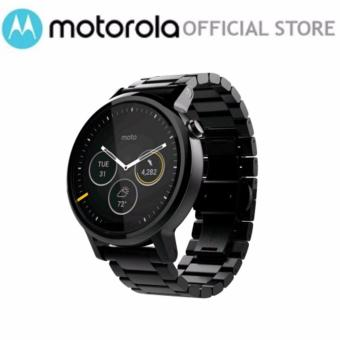 moto 2nd gen watch. Motorola Moto 360 2nd Gen 46mm Black Metal 1 Year Local Warranty Watch