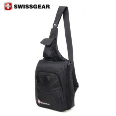 e513454f35cad New Genuine Brand SWISSGEAR Polyester Laptop SWISS Unisex Fashion Shoulder  Bag Solid Waist Bag Black Singapore