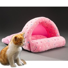 Pet Supplies Detachable Pets Nest Cute Slippers Shape Mongolia Bag Cat Dog House, Small,