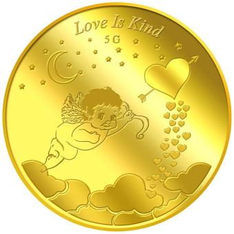 Harga Puregold 5g Love is Kind Gold Coin