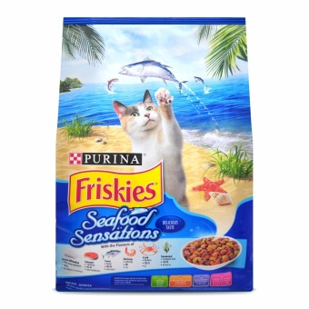 Harga PURINA FRISKIES Seafood Sensations Cat Food 3kg