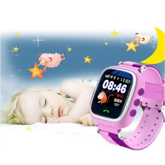 Q60 Intelligent GPS Smart Watches Phone Call for Kids Anti-Lost Monitor - intl