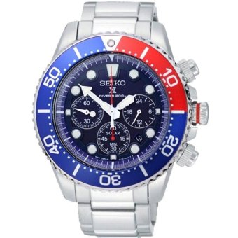 seiko solar chronograph 200m diver sports watch ssc019p1. Black Bedroom Furniture Sets. Home Design Ideas