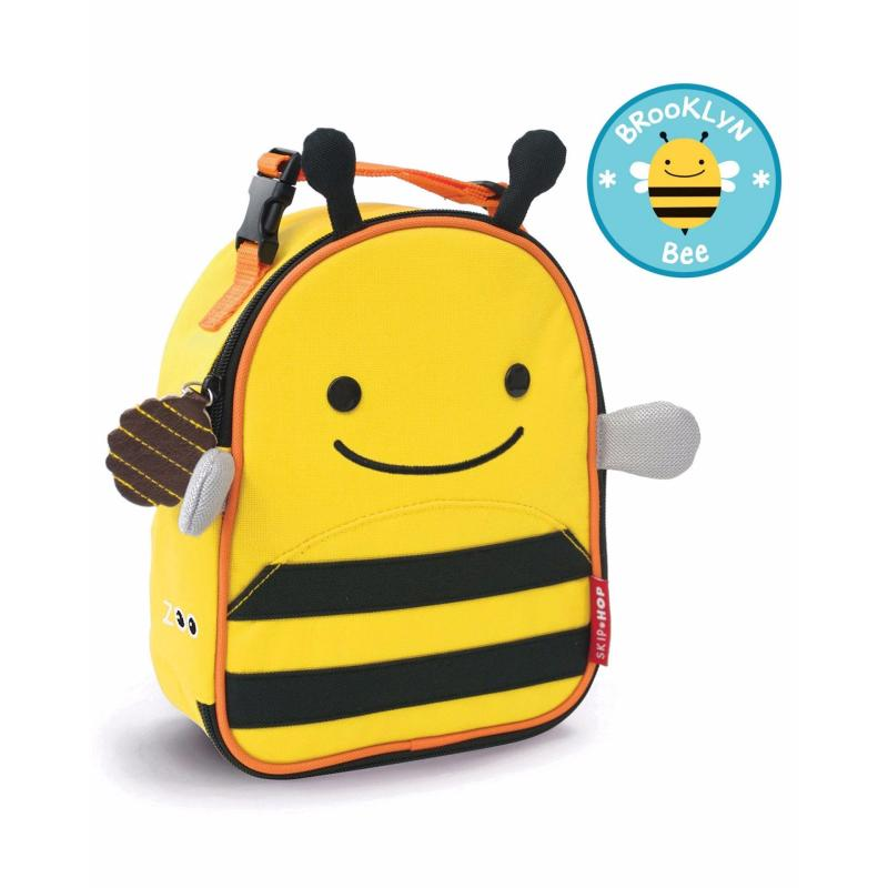 Skip Hop Zoo Lunchie Insulated Kids Lunch Bag - Bee