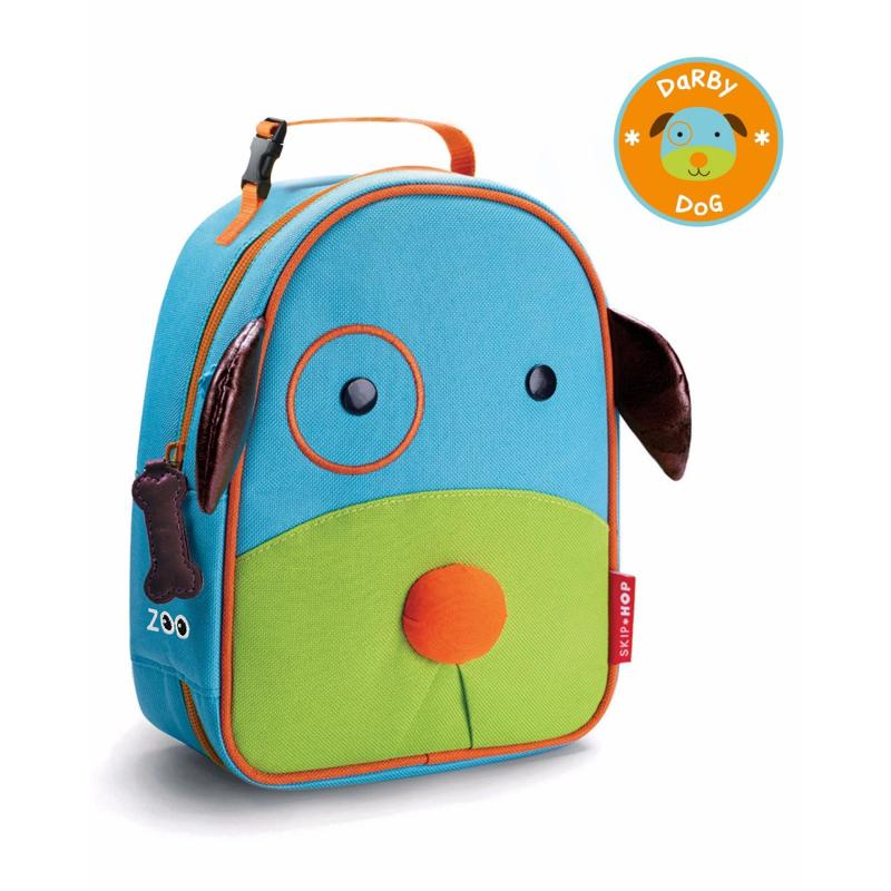 Skip Hop Zoo Lunchie Insulated Kids Lunch Bag - Dog