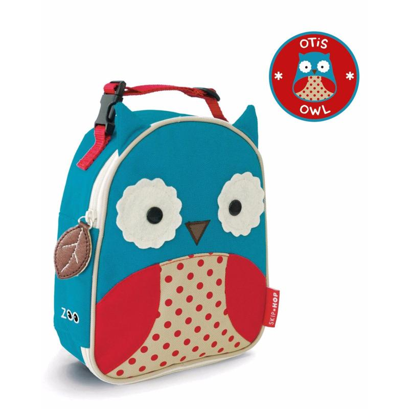 Skip Hop Zoo Lunchie Insulated Kids Lunch Bag - Owl
