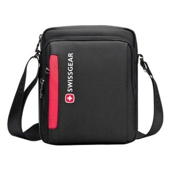 SSM SwissGear SA5008 Model Large Leisure Travel Business Outdoor One-shoulder Bag (Black) - intl