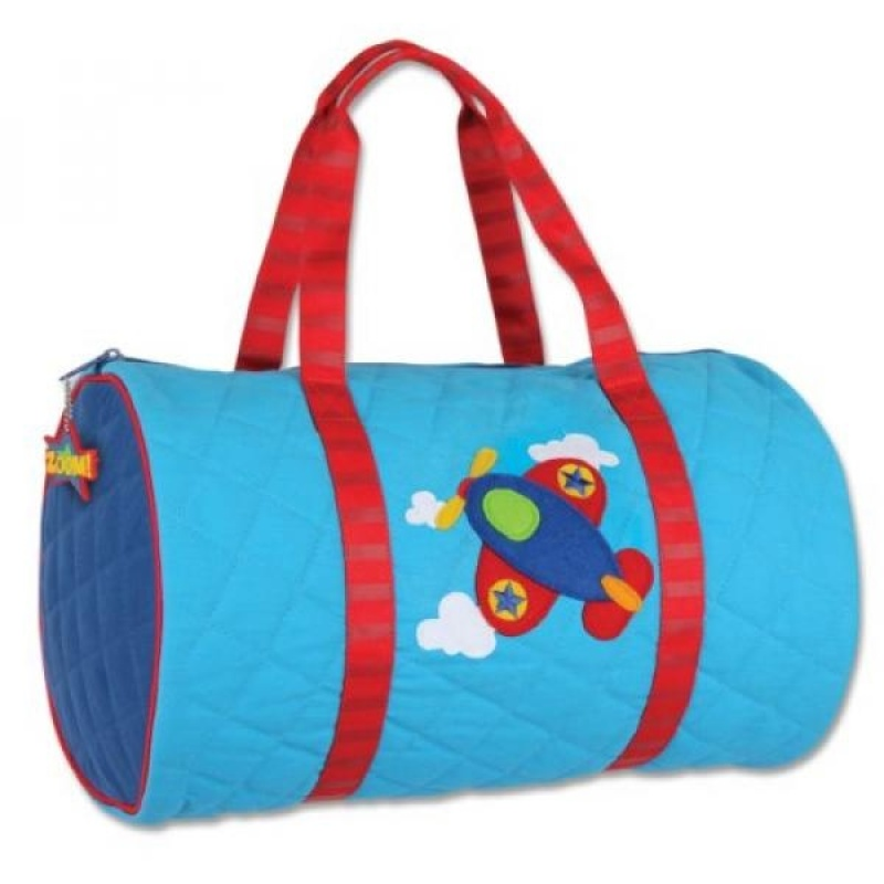 Stephen Joseph Quilted Duffle, Airplane - intl