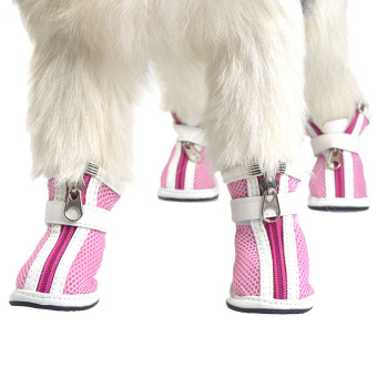 Teddy pet dog zipper shoes dog shoes