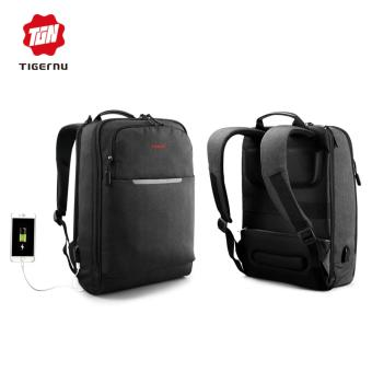 Harga Tigernu Stylish Waterproof Laptop Backpack fit for 12-14inch Notebook - intl