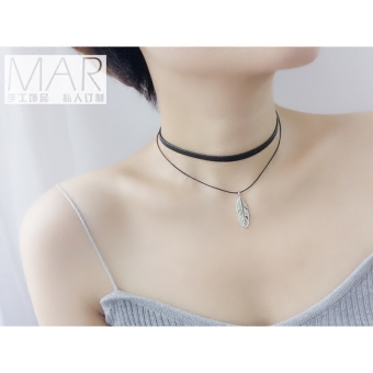 Using hand jewelry Japan and South Korea Harajuku style student wild ol fashion clavicle chain female neck strap collar Cool necklace